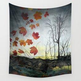 October (Falling) Wall Tapestry