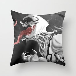 Anti Venom Throw Pillow