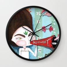 Ta Wall Clock