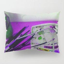 Aquarell und Digital Pillow Sham
