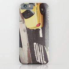 one way taxi:: nyc iPhone 6s Slim Case