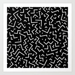 Memphis pattern 31 Art Print