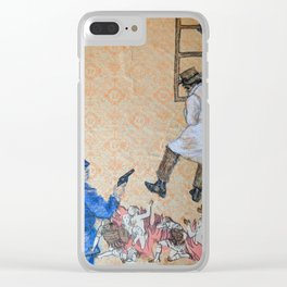 A Spectacle, A Miracle Clear iPhone Case