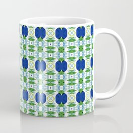Blue Sapphires - this design goes well with Blue and Green Calm Coffee Mug