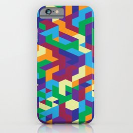 Abstract Isometric #1 iPhone Case