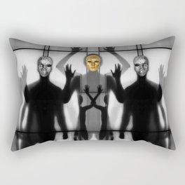 Body Language 64 Rectangular Pillow
