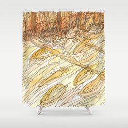 Eno River #32 Shower Curtain