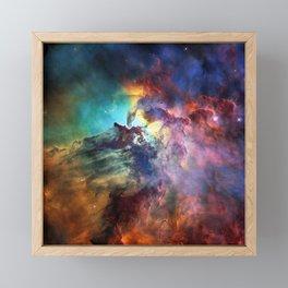 Lagoon Nebula Framed Mini Art Print