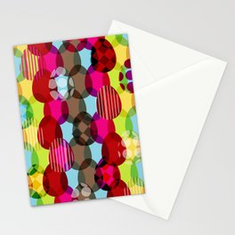 Eggs pattern Stationery Cards