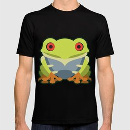 Cute Kawaii Green Tree Frog T-shirt