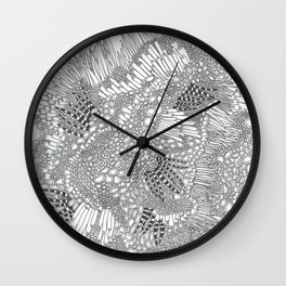 Psychedelic Pattern 1 Wall Clock
