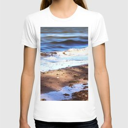 Waves Sand Stones T-shirt