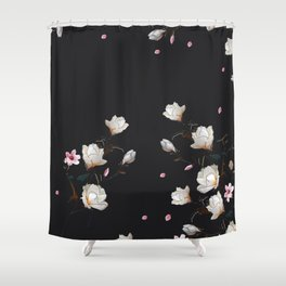MAGNOLIA BRANCH Shower Curtain