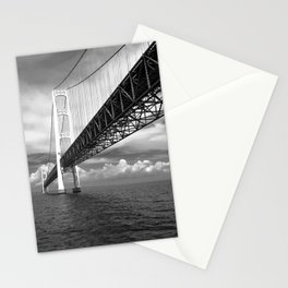 Mighty Mackinac Approaching storm Stationery Cards