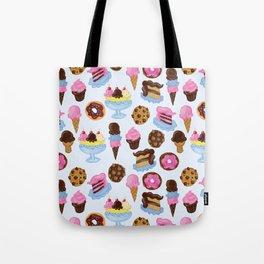 Dessert Pattern Tote Bag