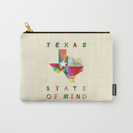 Texas State Of Mind Carry-All Pouch