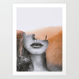 Cliff Kunstdrucke