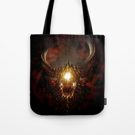 Let Rise the Inferno Tote Bag