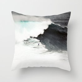Surf wave sea 6 Throw Pillow