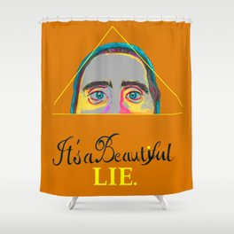 Jared Leto Tribute Shower Curtain
