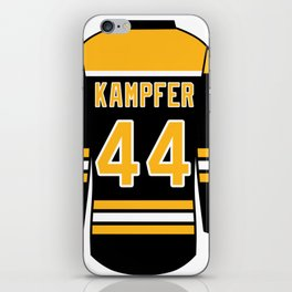 Steven Kampfer Jersey iPhone Skin