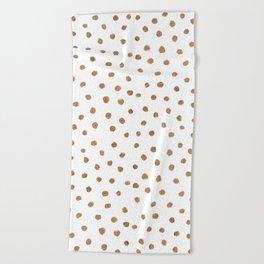 Goldie Dots Beach Towel