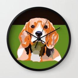 Petsy - Custom Pet Portraits Wall Clock