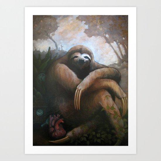 My Famine Pt 1 Art Print