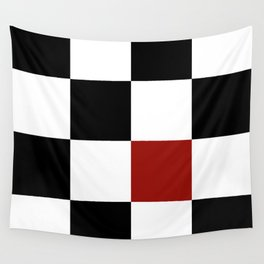 Checkerboard Wall Tapestry