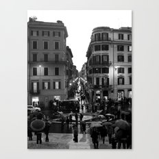 Rain in Rome Canvas Print