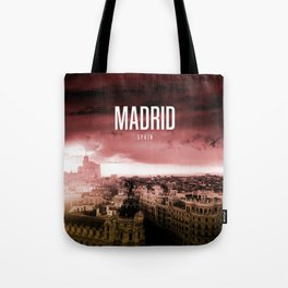 Madrid Wallpaper Tote Bag