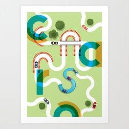 C A R S Art Print