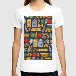 Vintage macaroni pattern T-shirt