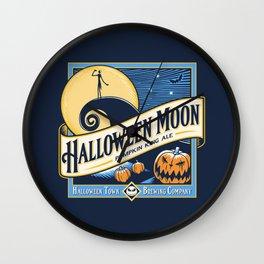 Halloween Moon Wall Clock