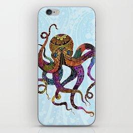 Electric Octopus iPhone Skin
