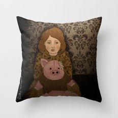 Anti Social Personality Disorder Throw Pillow