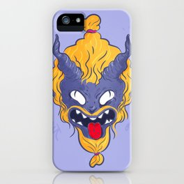 My little demon iPhone Case
