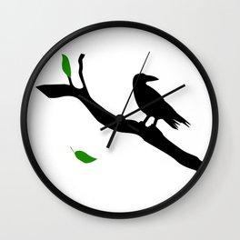 Old Crow Wall Clock