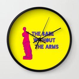 Venus de Babe Wall Clock