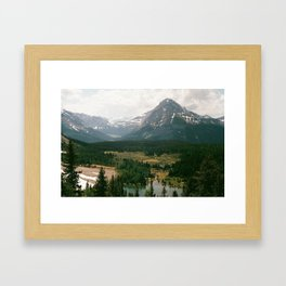 rockies Framed Art Print