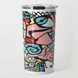 Abstract Art Graffiti Art Drawing Psychedelic Gifts Travel Mug