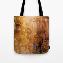 handicapped bull Tote Bag