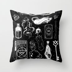 What's in my bag? Throw Pillow
