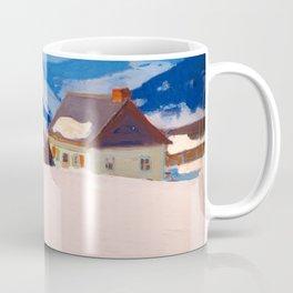 Clarence Gagnon - Laurentian Homestead - Ferme du rang St. Antoine, Baie St. Paul Coffee Mug