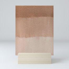 Dusty Rose Ombre Stripes | Corbin Henry Mini Art Print