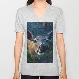Key Deer Unisex V-Neck
