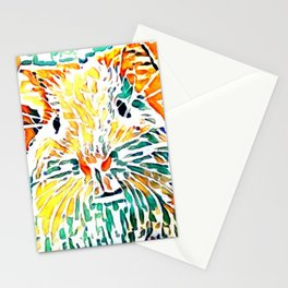 Hot painted Guinea Pig Stationery Cards