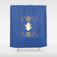 olaf Shower Curtains featuring Olaf Summer Dream by Interstellar
