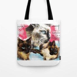 Estella, Oliver & Evangeline Tote Bag