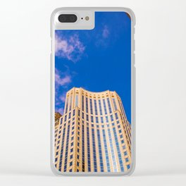 Hit the sky Clear iPhone Case